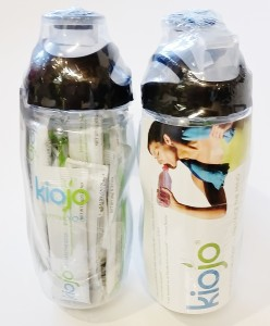water bottles cart